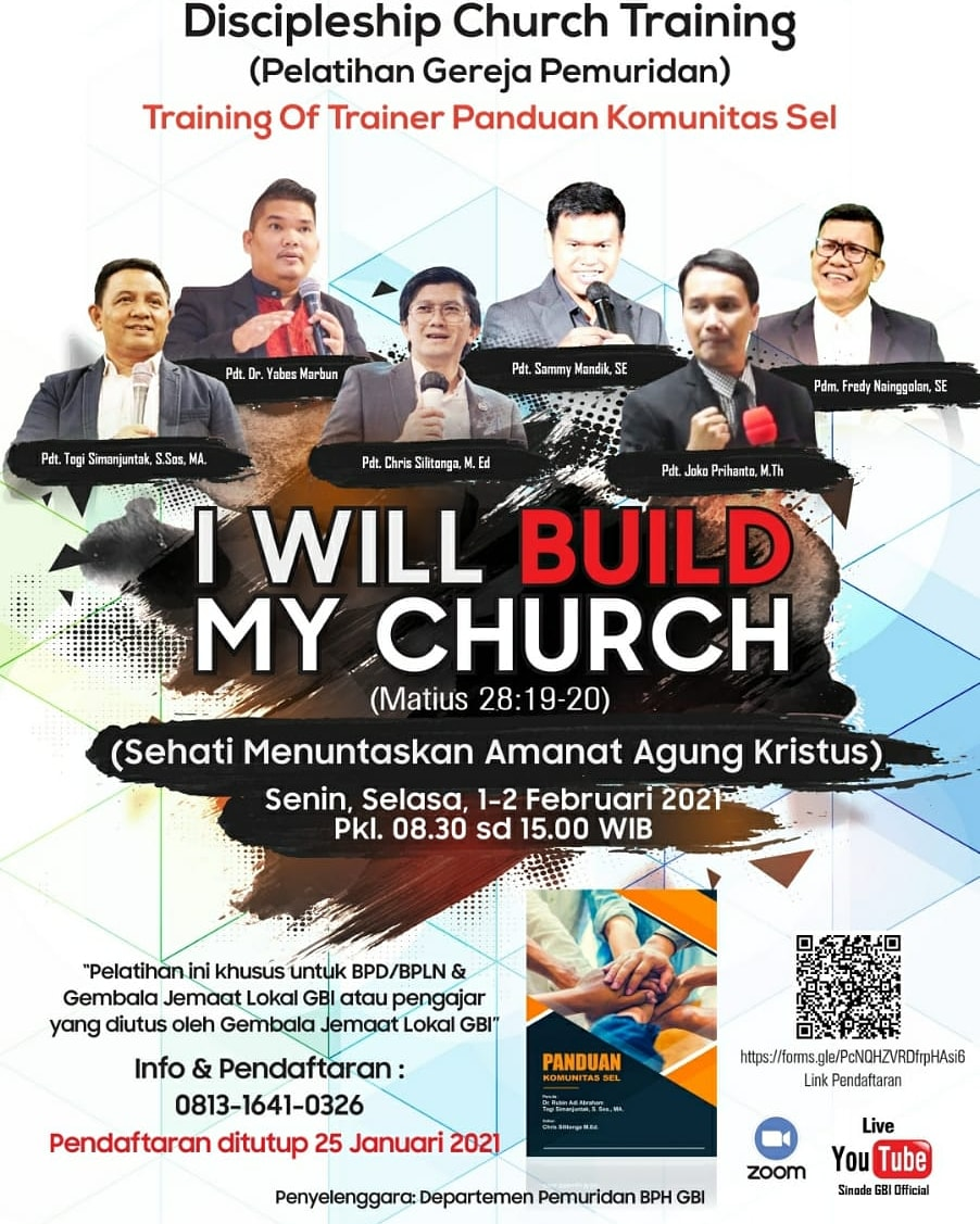 DISCIPLESHIP CHURCH TRAINING
