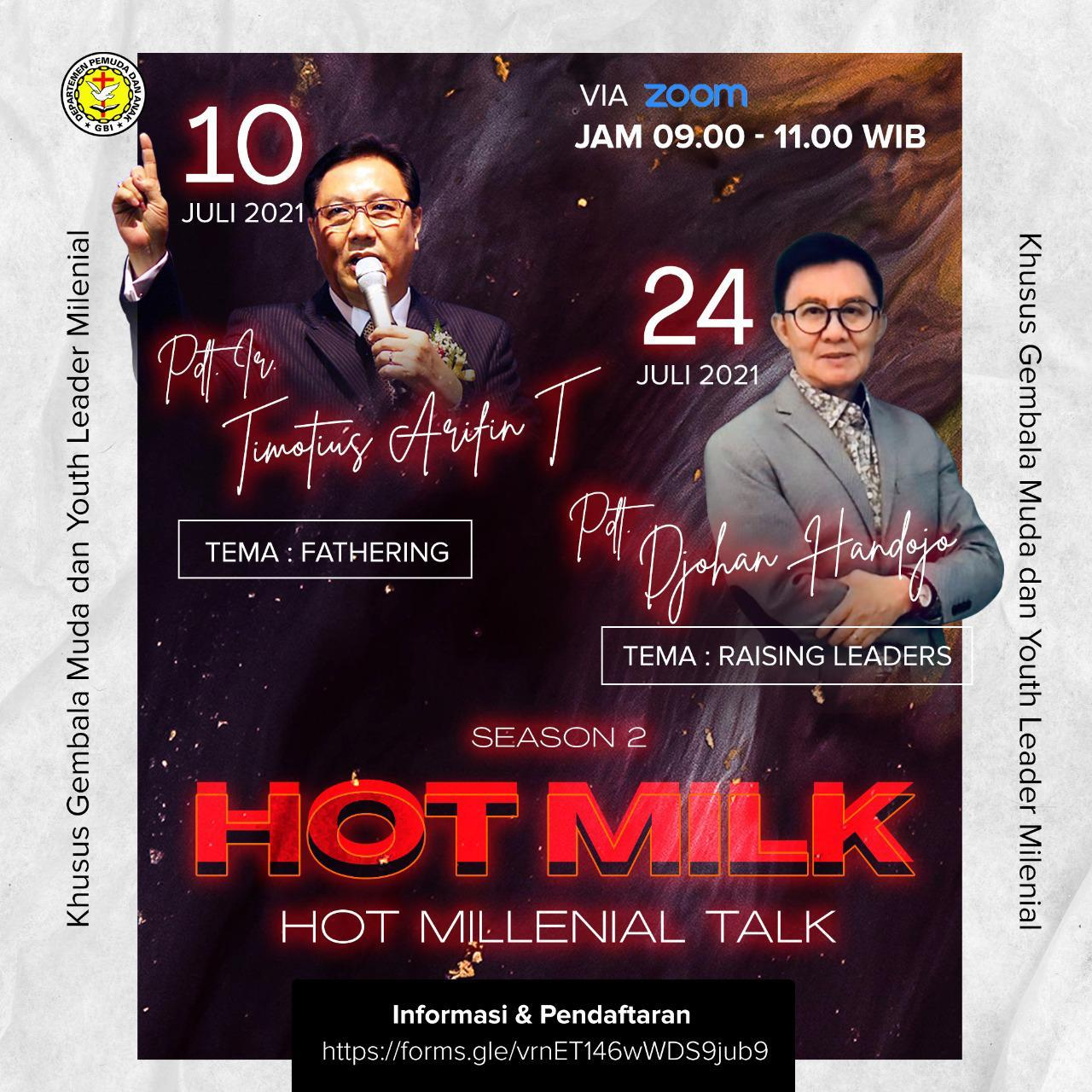 Read more about the article HOT MILENIAL TALK Session 2.