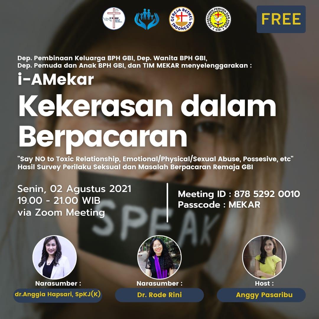 Read more about the article Webinar Mekar || Kekerasan Dalam Berpacaran